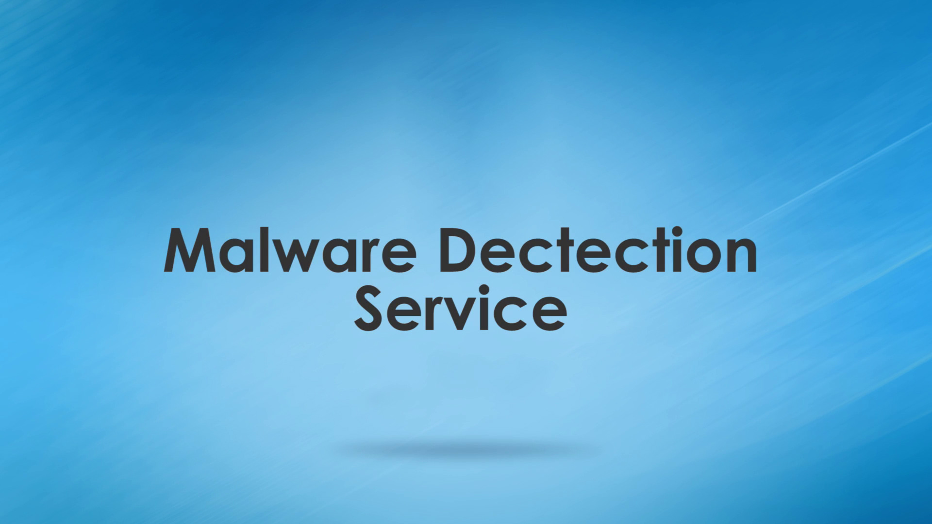WAS Training Malware Detection Service
